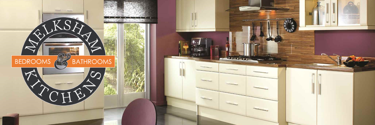 Modern kitchen design and colours by Melksham Kitchens