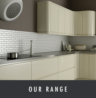 Details of the range of kitchens, bedrooms and bathrooms Melksham Kitchens install