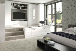 Colonial Bedrooms installed by Melksham Kitchens Bedrooms and Bathrooms