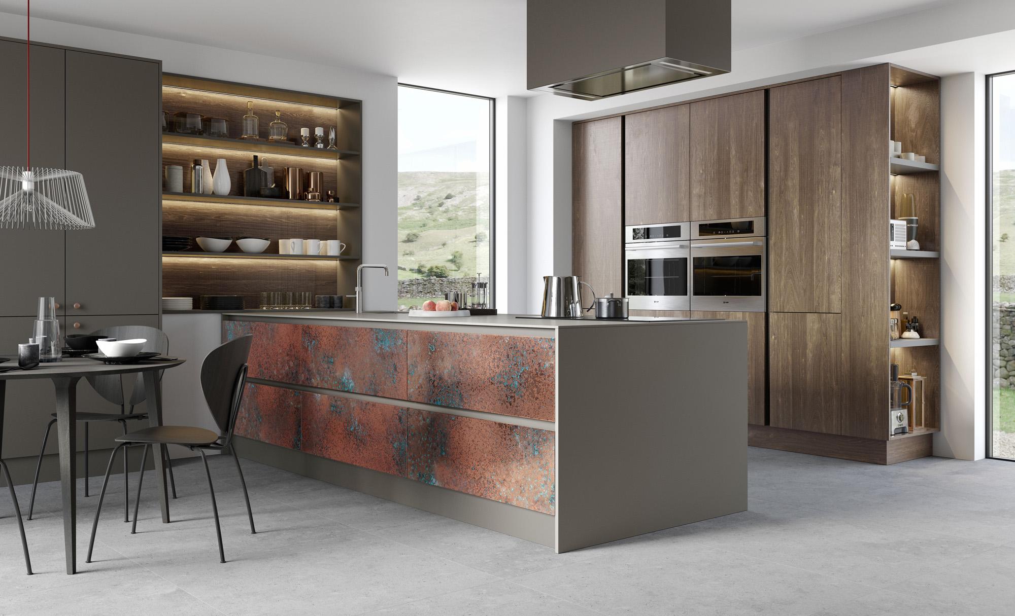 FERRO_-_Oxidised_Copper,_Zola_Matte_Lava,_Rezana_Espresso_Oak